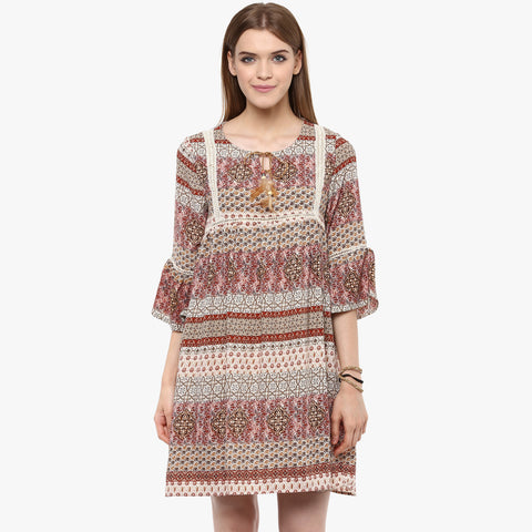 Aakansha Printed Flowy Dress