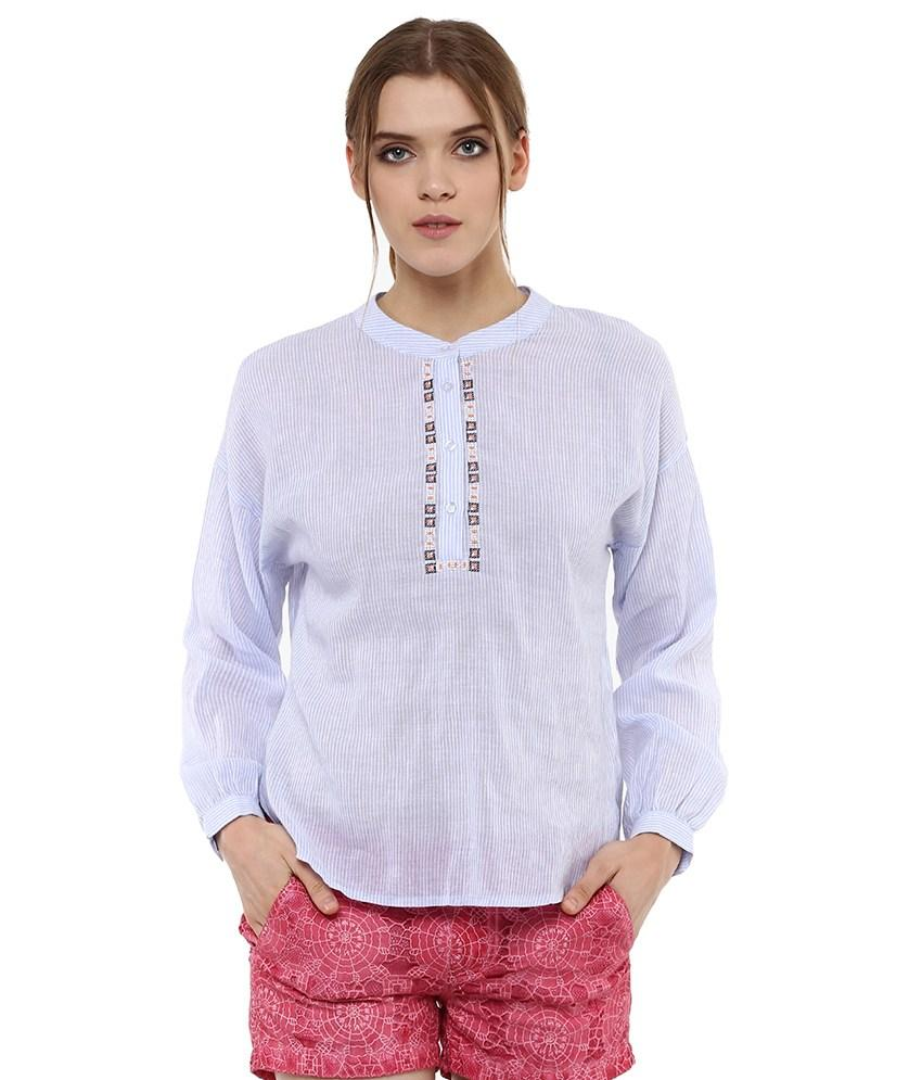 Loom Tree High Low Shirt