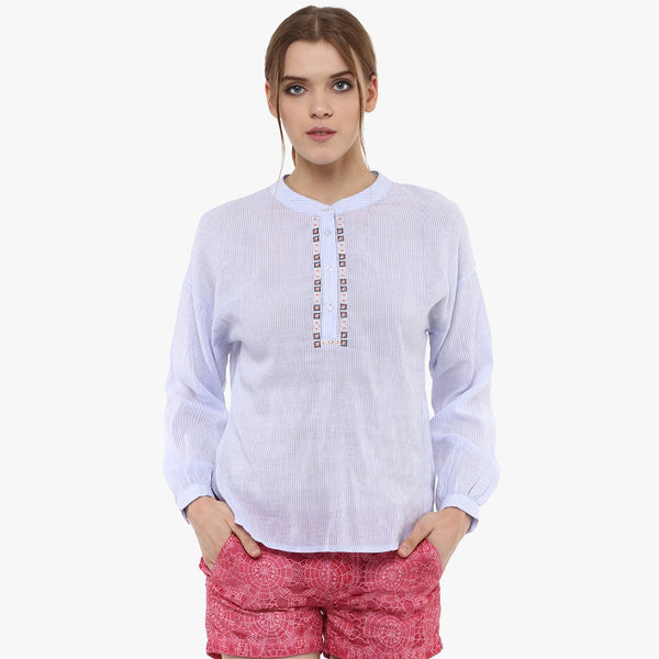 Shubra High Low Shirt