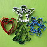 Christmas Cookie Cutters Sets