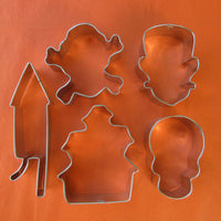 Halloween Cookie Cutters - Cookies for inspiration only