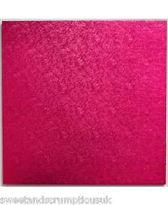 Square Hot Pink Cake board