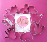 Baby Themed Cookie Cutters