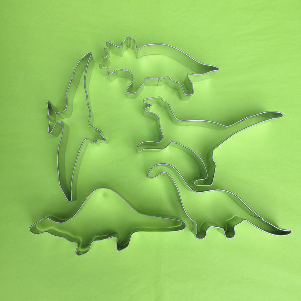 Dinosaur Cookie cutters - Jurassic Time
