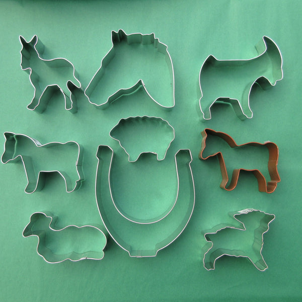 Farm Animals Cookie cutters