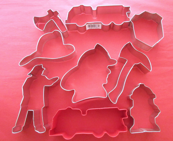 Fire Fighters Cookie cutters
