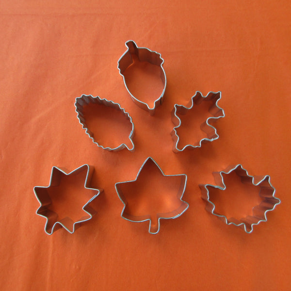 Autumn Miniature Cookie Cutters