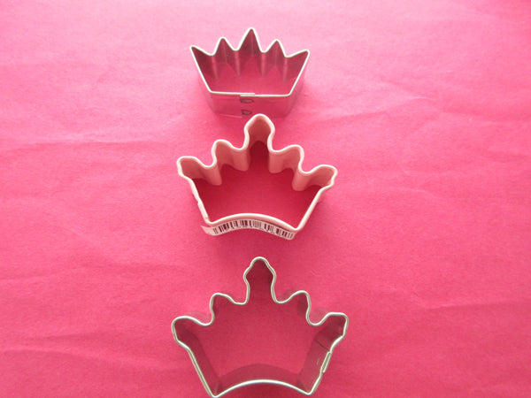Crowns Miniature Cookie cutters