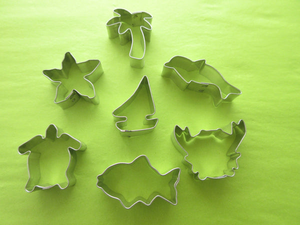 Seaside Miniature Cookie cutters