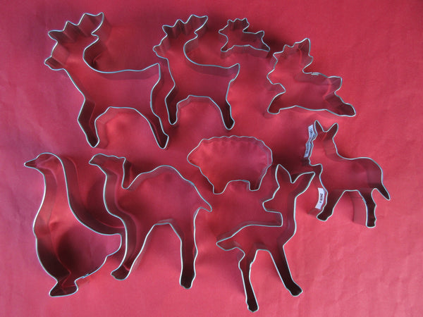 Christmas Cookie Cutters  - Animals