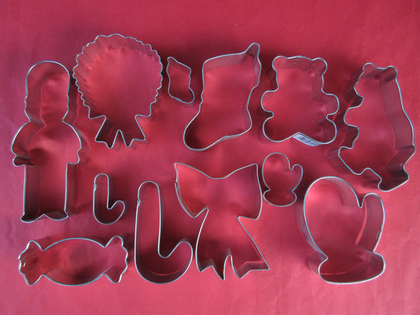 Christmas Santa & Father Christmas Cookie Cutters