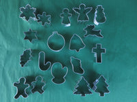 Christmas Miniature Cookie cutters