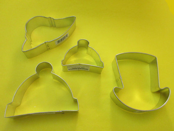 Clothing - Hats & Ties Cookie Cutters