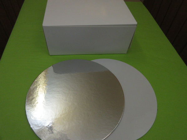 Cake Box & Round Cake Card Sets