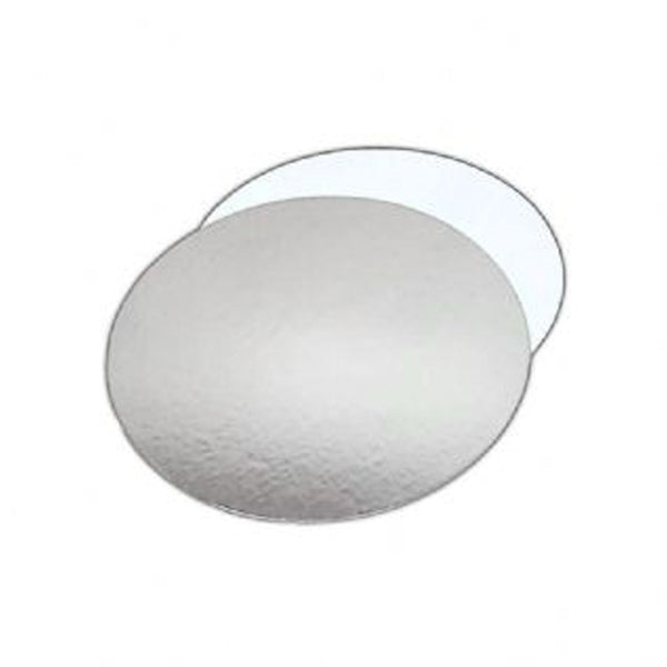 Reversible White/Silver Round Cake Boards 1.5mm Thick