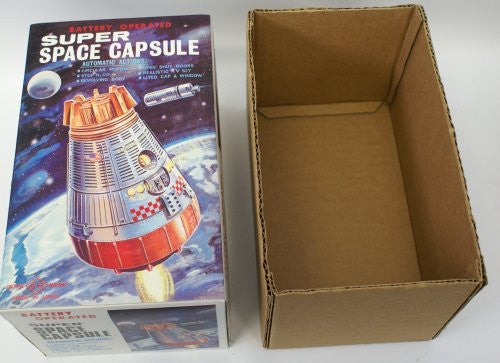 Super Space Capsule Reproduction Toy Box