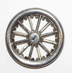 "1-1/2"" Vintage tin wheel : Lehmann"