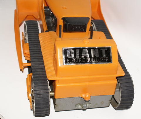 Marx Giant Electric Bulldozer : Set of rubber replacement tracks. 30""