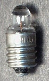 Toy Light Bulb 1.2 volt eye bulb with magnifier