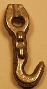 Hubley nickel plated truck hook