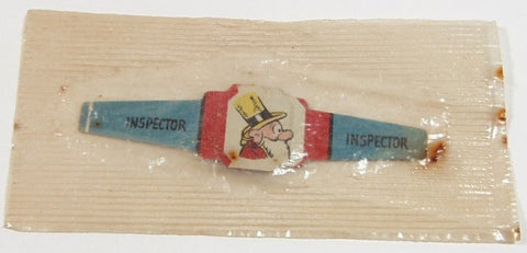 Post Toasties Cereal Premium Ring Inspector 1949