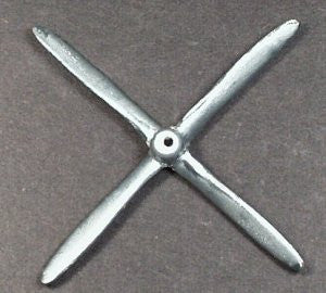 "2-1/2""  toy Bronzart model  P-47 Model Thunderbolt. Propeller"