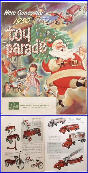 1950 Toy Catalog Lord's Department Store