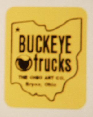 Decal : Buckeye Truck water transfer