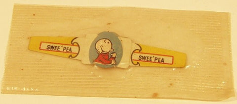 Post Toasties Cereal Premium Ring Swee' Pea 1949