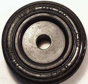 Ideal Toy Co. tire and hub  2-1/8""