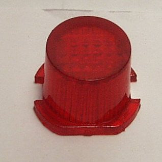 Batman vintage car exhaust tail light Red.   Aoshin