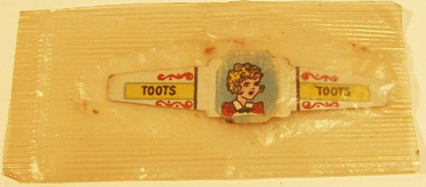 Post Toasties Cereal Premium Ring Toots 1949