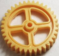 Yellow Blink-A-Gear Large Gear.