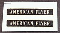 American Flyer O ga Train Decal