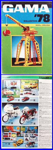 Gama 1978 full-color catalog