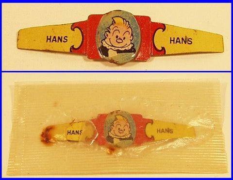 Post Toasties Cereal Premium Ring Hans 1949