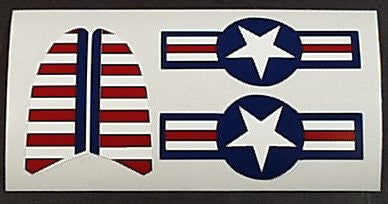 Hubley Military Fighter Decal