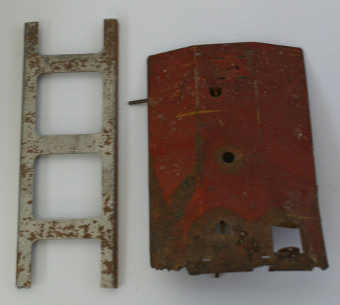 Vintage Toy Parts Ladder and roof