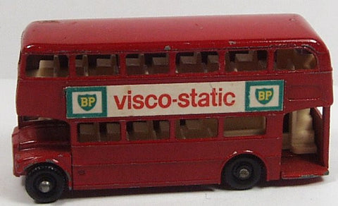 Early Matchbox 5c London Routemaster Bus 'BP Visco-Static'