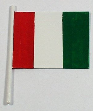 Tin Flag : Oceanliners/Boats green/white/red