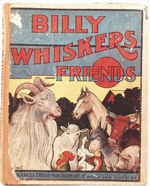 1906 Billy Whiskers & Friends Hardcover Book