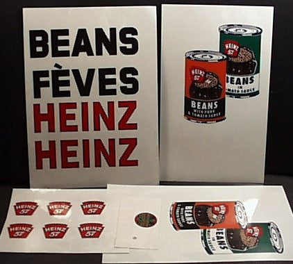 Lincoln Heinz Truck Decal Set