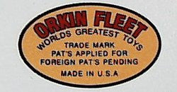 Orkin Fleet Boat Decal