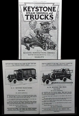 Keystone Toys Pressed Steel Catalog