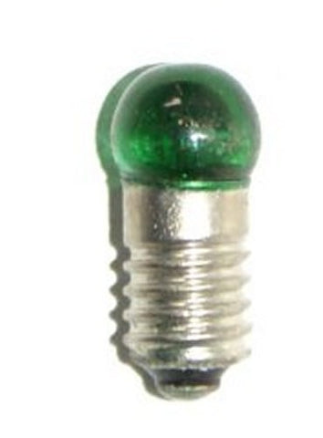 "Green Light bulb : 1/4"" bulb Diameter."