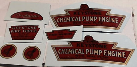 Keystone chemical pumper decal