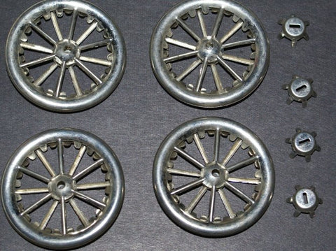 "1-1/2"" Lehmann Set of Tin Wheels"
