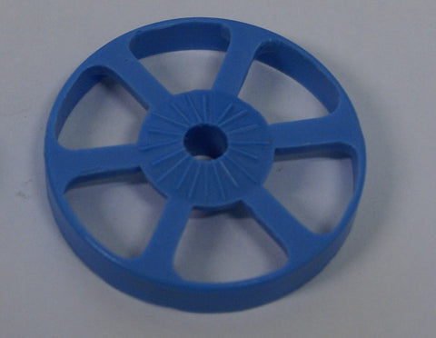 "Large Blue Gear : Wheel-A-Gear Robot 1.5"" Dia."