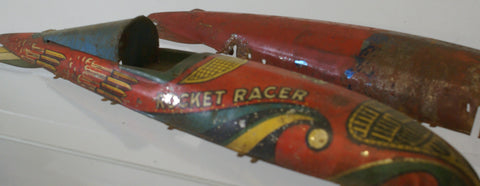 Rocket Racer Vintage toy body : parts only. 16""