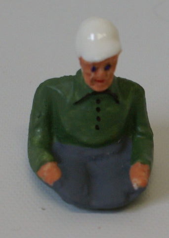 "Vintage toy driver Arnold Germany toy car. 1-1/2"" x 1-1/4"""